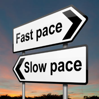 fast pace