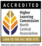 Accredited by the Higher Learning Commission North Central Association