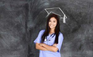 Nursing Graduate with cap