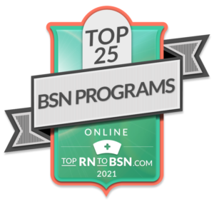 Top RN to BSN.com Top 25 logo